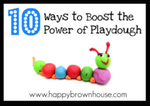 10 Ways to Boost the Power of Playdough